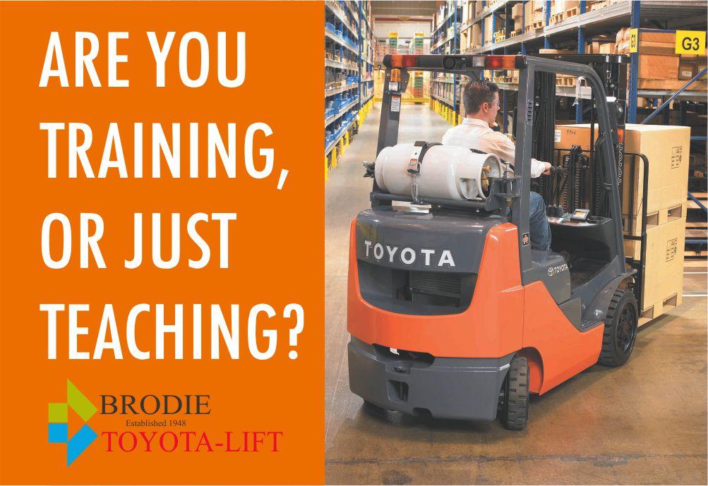 Training vs Teaching Forklift Operators